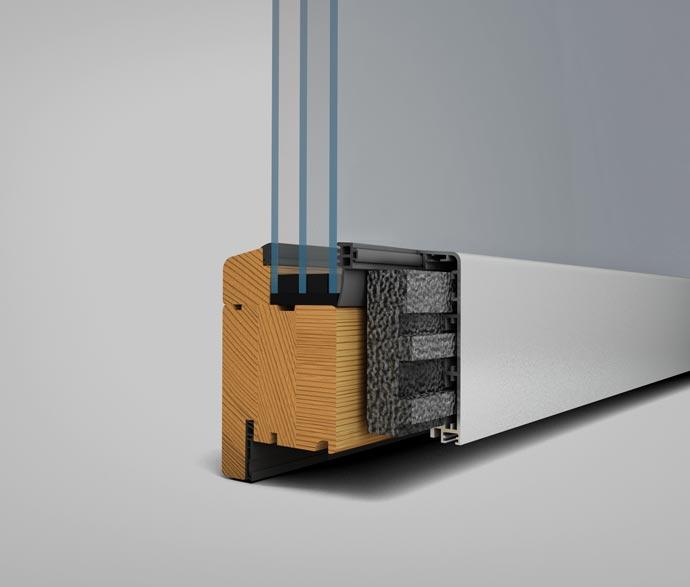 Solarlux SL97 harmonika ajtó