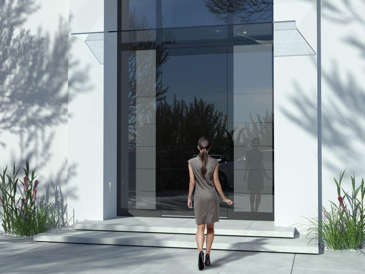 Nagyméretű luxus bejárati ajtó - Pirnar Ultimum Grande