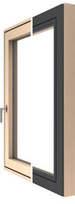 Modern fa-alu ablak - Katzbeck Flat külső-belső megjelenés