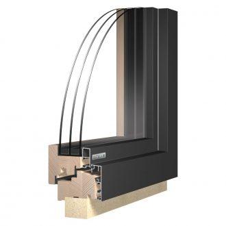 Katzbeck Design fa-alu ablak modern és klasszikus házakhoz