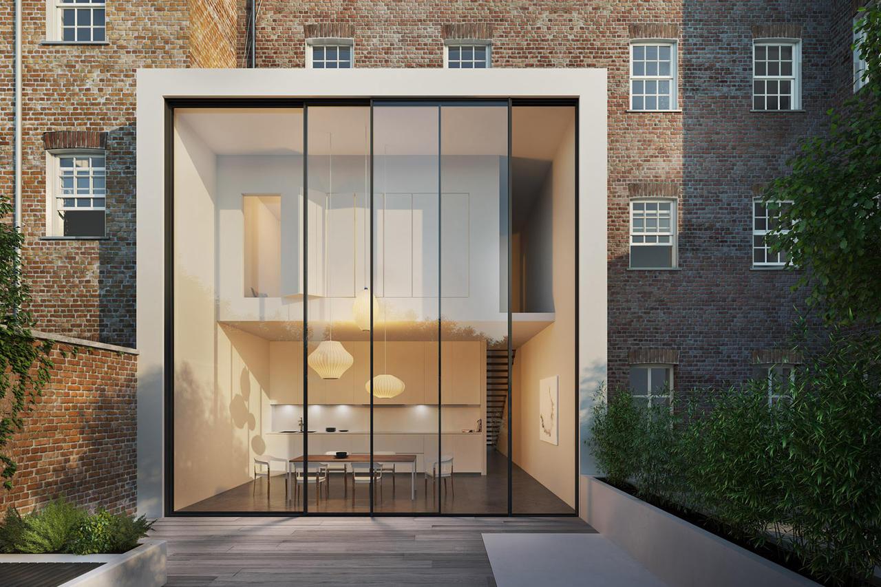 Alumínium ablak óriási méretekben - Cero tolóajtó rendszer