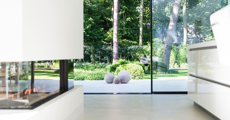 Alumínium ablak vékony kerettel - Cero tolóajtó rendszer