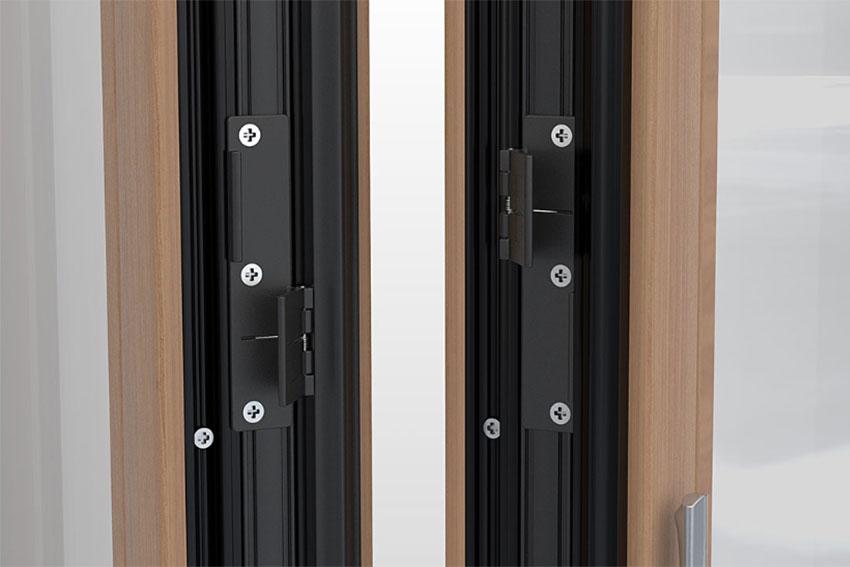 Fa harmonika ajtó - egyedi pánttechnológia