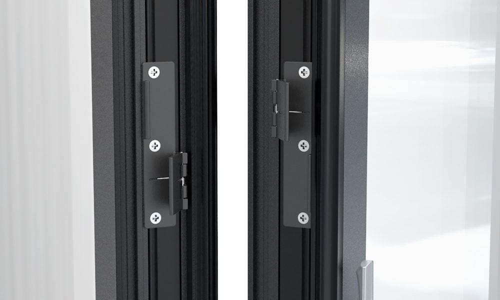 Alumínium harmonika ajtó pánttechnika - Solarlux