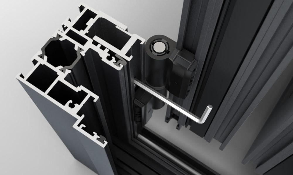 Könnyen elvégezhető beállítás a Solarlux harmonika ajtók esetében