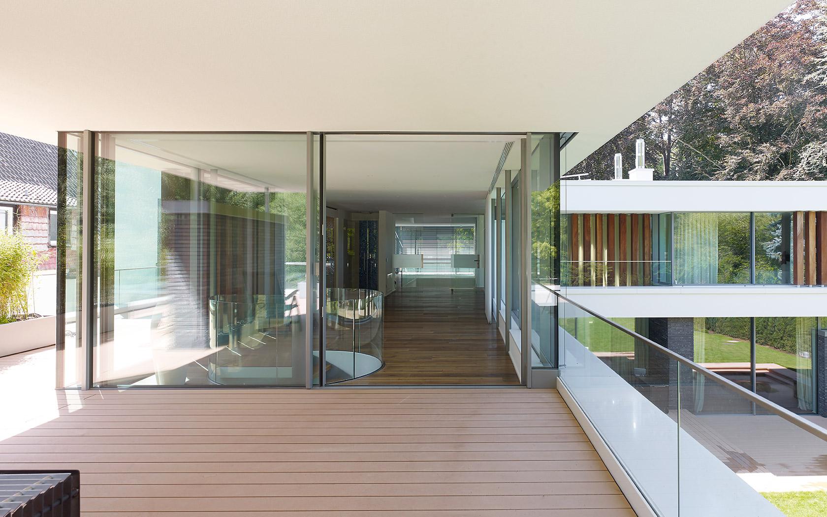 Nagyméretű alumínium panoráma ablakok